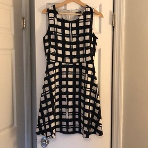 The Limited check dress